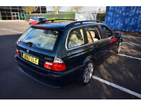 BMW 330i touring estate (not standard 330), full leather, MOT, good family car