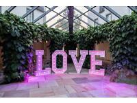 LED LOVE Buchstaben / Leuchtbuchstaben - Hochzeit - Event - Feier Rheinland-Pfalz - Koblenz Vorschau