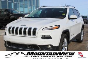 2016 Jeep Cherokee Limited V6! SAFETY TECH!