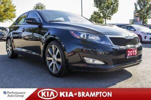 2013 Kia Optima EX LUXURY. NAVI. LEATHER. ROOF. CAMERA. PWR SEAT