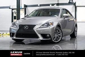 2014 Lexus IS 250 GROUPE DE LUXE FULLY LOADED