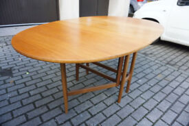 Elegant Nathan Mid-century Gateleg / Dropleaf Dining Table FREE DELIVERY CENTRAL EDINBURGH