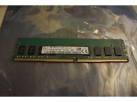 4GB DDR4 RAM 2133MHz Desktop size