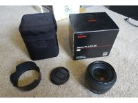 Sigma 30mm f1.4 EX DC for Canon