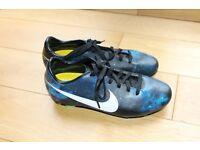 Nike Mercurial CR7 Galaxy kids football boots. Size UK 4.