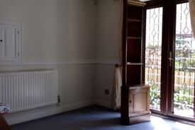 STAG WOODEN CORNER UNIT WITH DISPLAY SHELVES AND CUPBOARD - COLLECT NOTTINGHAM