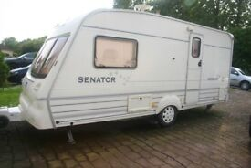 BAILEY SENATOR VERMONT,2BERTH,MOVER FITTED,ONLY £2500. SENSIBLE OFFERS CONSIDERED
