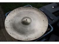 """Premier 5-Star Super Zyn 20"""" China cymbal - Vintage - Drilled for rivets"""