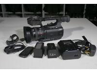 Canon XF100 Camera with accessories