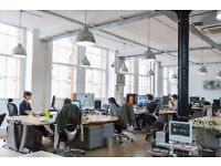 6-8 Large desks available for rent in open plan warehouse studio in Old Street, Shoreditch, London