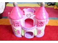 Pink Princess Castle for Smaller Dolls