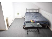 Double room in Tooting Broadway. Shared with only one person.