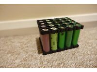 20x 18650 cells from laptop batteries