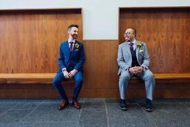 Documentary wedding photographer available