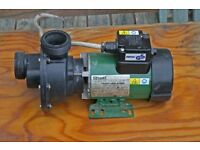 Whirlpool pump for a Jacouzzi bath, pumps air with water.