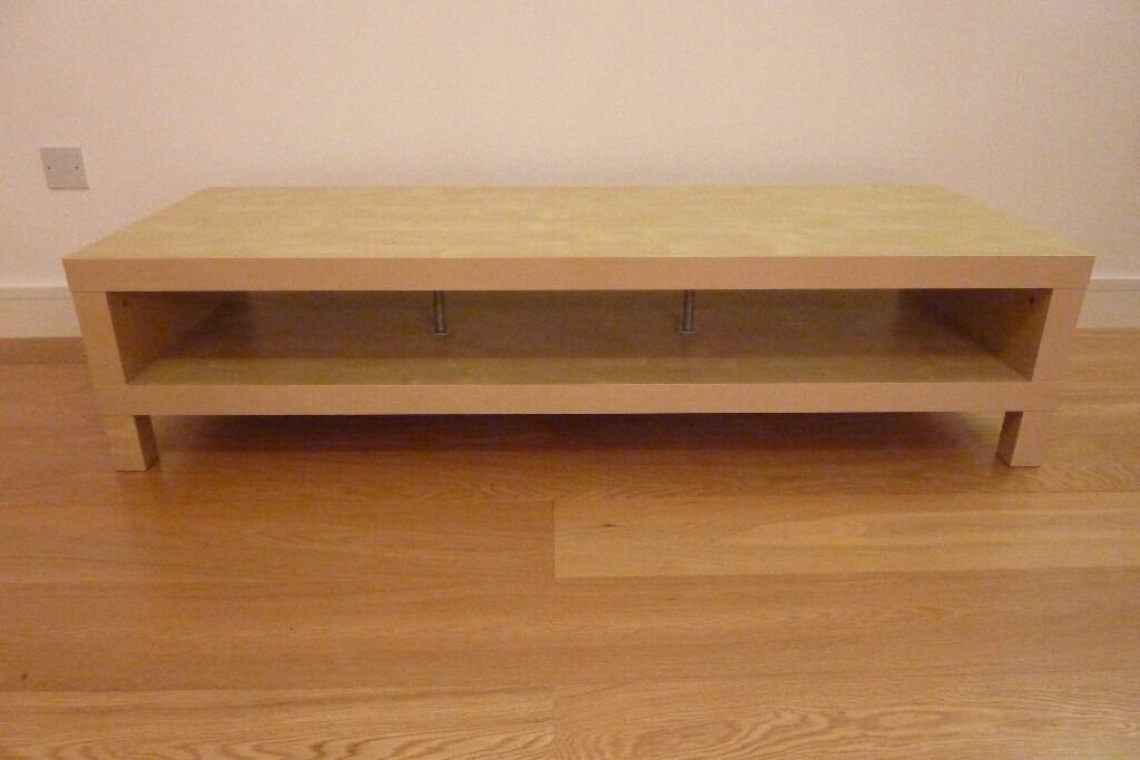 ikea lack tv bench coffee table beech finish mint condition in oldham manchester gumtree. Black Bedroom Furniture Sets. Home Design Ideas