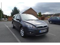 Ford Focus 1.6 Petrol, automatic, low milage, air con, parking sensors