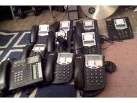 5 astra 6801i office telephones carrier class monitors bt phones etc