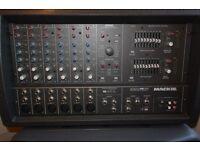 Mackie 406m 250 watt powered mixer amplifier and Peavey PR Sub