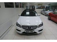 MERCEDES-BENZ E CLASS 2.1 E250 CDI AMG Sport 7G-Tronic Plus 4dr Auto (white) 2014