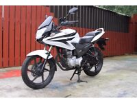 HONDA CBF125 2011 WHITE ( 1 YEAR MOT)