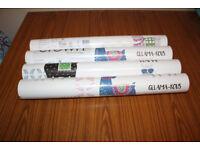 4 X ROLLS OF CROWN DRAMA LLAMA WALL PAPER