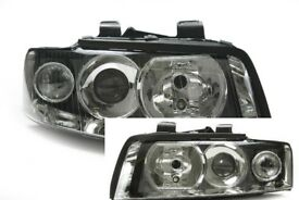 New Pair of Right hand drive UK Xenon headlights Audi A4 8E 2000 - 2006 RHD