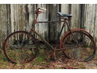 Old bikes and bike parts uplifted free