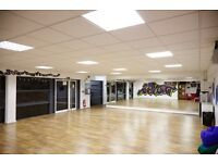 Dance & Fitness Studio Hire (great location near to Ikea and the M32 in Bristol)