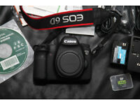 Canon EOS 6D Digital SLR Camera with Wi-Fi