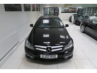 MERCEDES-BENZ C CLASS 2.1 C220 CDI BlueEFFICIENCY AMG Sport Sport Coupe 2dr (black) 2012