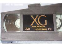 SVHS Master tapes JVC