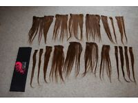 "Wildest Dreams 18"" Full head hair extensions"