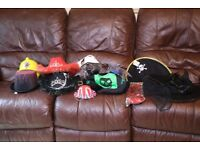11 Fancy Dress Novelty Hats, great for parties, Ideal as Photobooth Props.