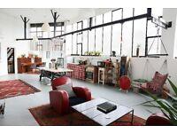 Unique Industrial East London Loft – Four Duplex Suites Available