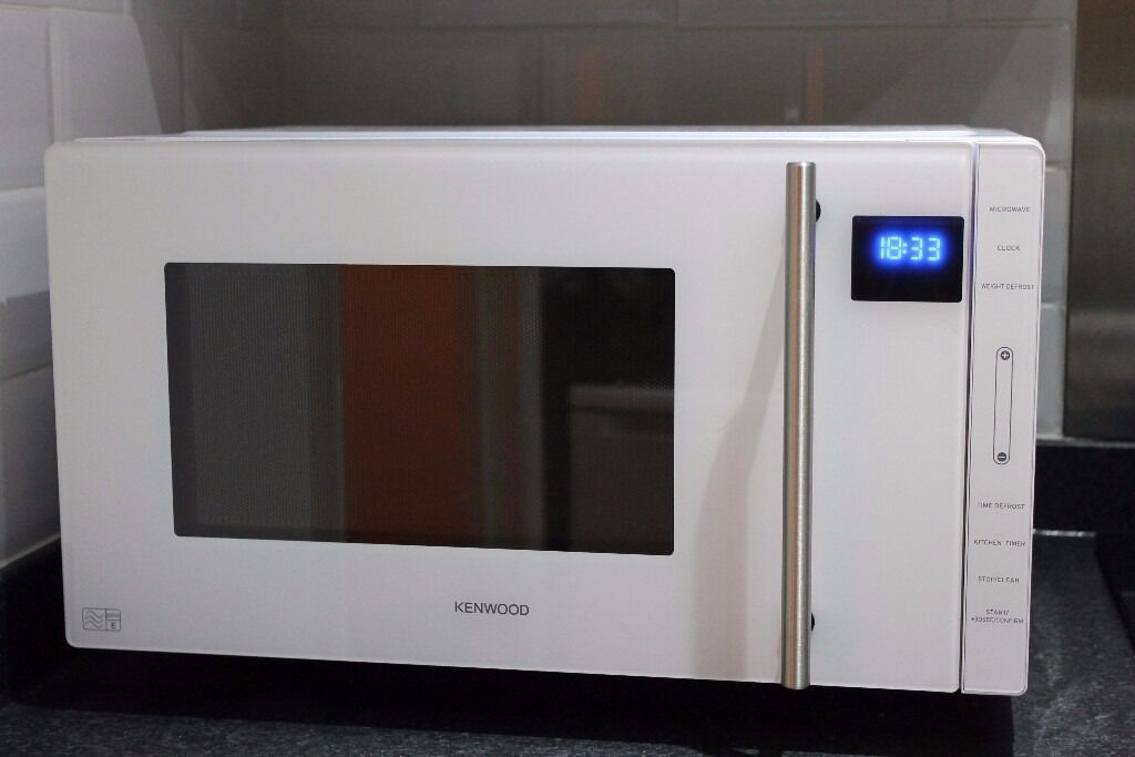 MICROWAVE KENWOOD 23LAS NEWSelling just because we are moving outin Wanstead, LondonGumtree - MICROWAVE KENWOOD – AS NEW Just like new! Less than one year of use. Model KENWOOD K23MFW15 Maximum microwave power 800 W Microwave heating category E Flatbed design Capacity 23 litres FUNCTIONS Cooking modes Defrost Reheat Auto cooking programs 8...