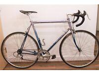 Rare Peugeot Aspin 14 Road bike,Shimano 105 group set, Reynolds 525 frame,large 61cm(24inch),14speed