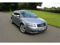 Audi A3 2.0 TDI Sport 3dr++HPI CLEAR++NEW CLUTCH++TIMING BELT++SERVICE HISTORY++2 PREVIOUS OWNERS