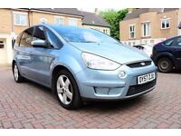 FORD S-MAX 2.0 TDCI TITANIUM AUTOMATIC 5 DOOR 7 SEATS FSH HPI CLEAR EXCELLENT CONDITION