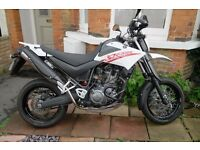 Yamaha XT660X 2008 White, excellent condition