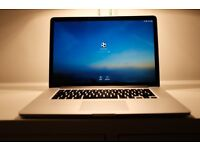 Apple Macbook Pro - Late 2013, Retina, 2.3Ghz i7, 16GB Ram, 1TB SSD, 2GB Nvidia Geforce GT 750M