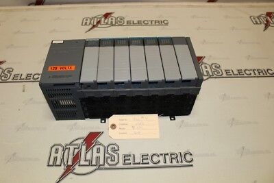 Used Allen Bradley Slc 500 Plc With Cards