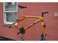 Gents Mountain Bike Frame Set Quality 19 Inch Frame By GT With Forks Cranks Derailleurs Can Deliver