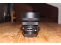 Sigma ART 30mm f/1.4 DC HSM Lenses - Canon Mount