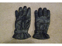 Men's Next leather gloves size Small