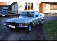 MERCEDES CLASSIC 1979 SL350 SL LOW MILES 3.5 V8 CLEAN CAR