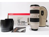 Canon 70-200 f/2.8L is lens