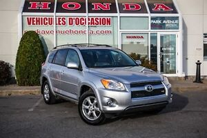 2010 Toyota RAV4 Limited * V6 * 4WD * Cuir * Toit-ouvrant +++