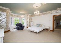 White Schreiber double bed frame & mattress