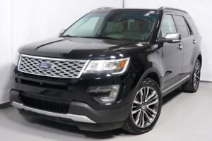 2016 FORD EXPLORER 4WD PLATINUM 4X4 CUIR TOIT GPS AWD